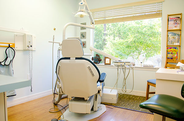 Operating Room at the General Dentist serving Lampasas,Copperas Cove, Burnet and Killeen