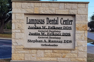 Dr. Felkner and Dr. Leavell at Lampasas Dental Center